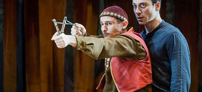 Andrei Costin in 'The Kite Runner'