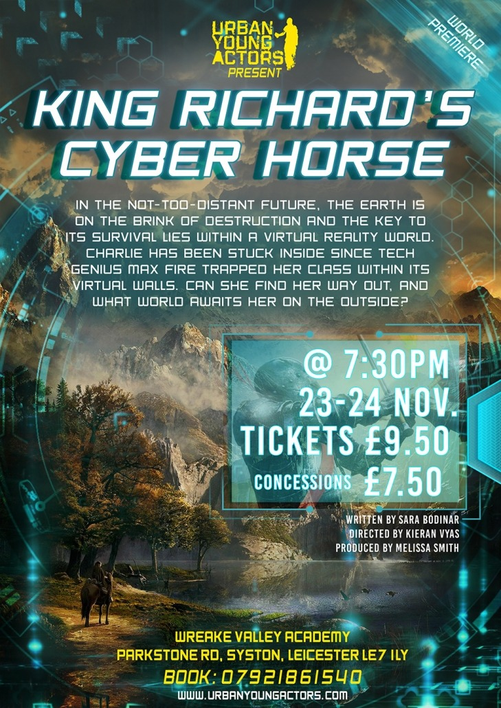 King Richard's Cyber Horse Poster (small)